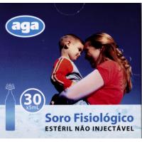AGA - Soro Fisiológico estéril 30 uni.